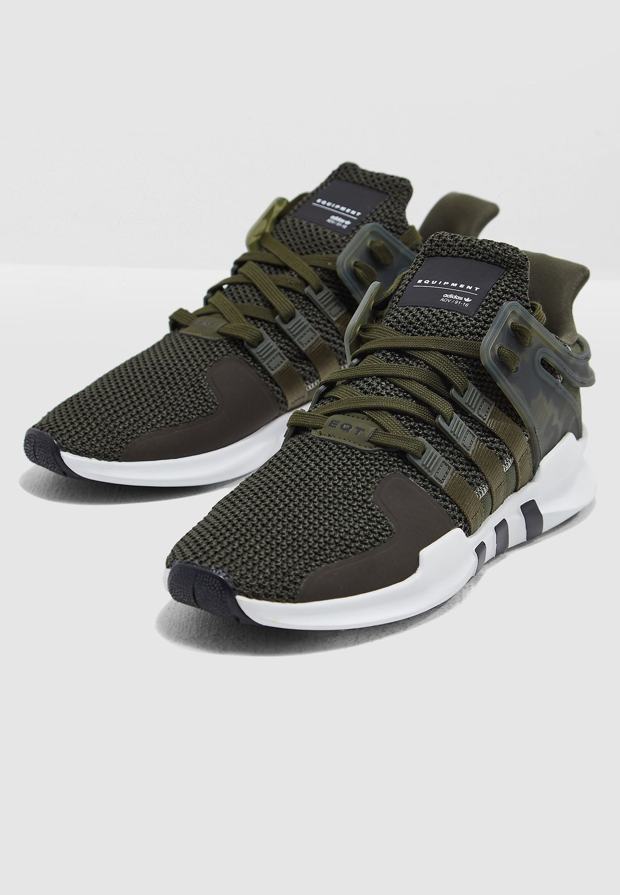 Shop adidas Originals green EQT Support ADV B37346 for Men in UAE ... b7250804a