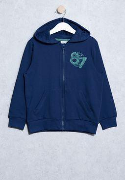 Youth Voltano Zip Sweatshirt