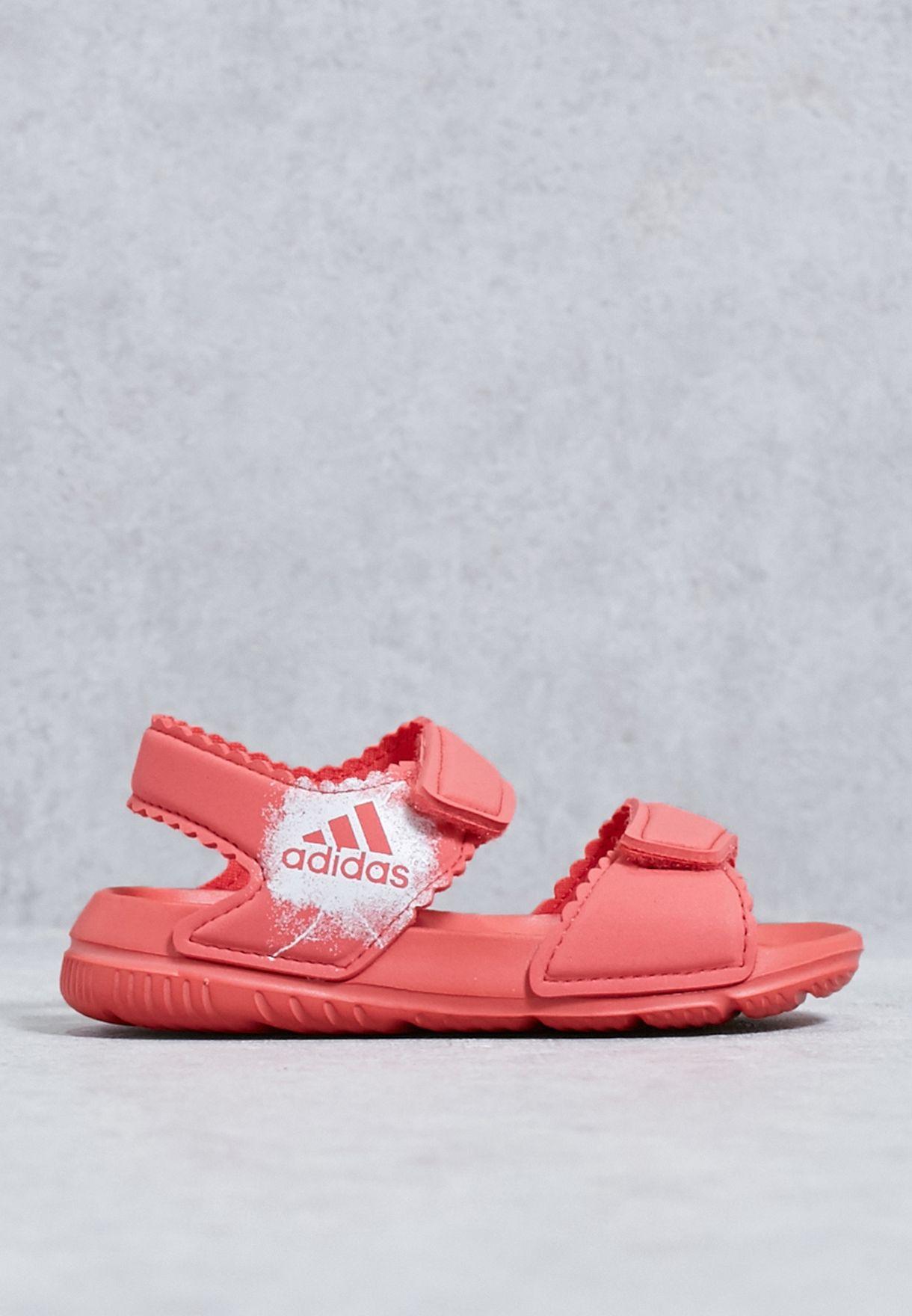 separation shoes 40e6e 5b72e Shop adidas red Infant AltaSwim BA7868 for Kids in Qatar - A