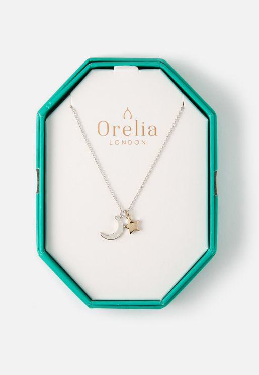 Moon & Star Necklace Giftbox
