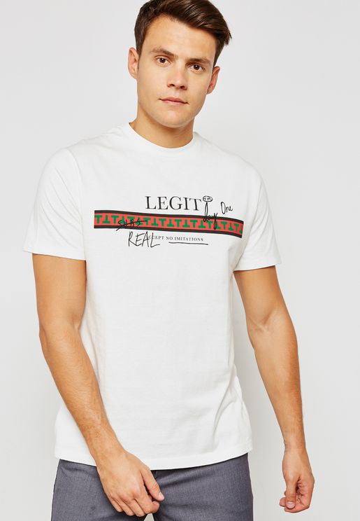 'Legit'  Crew Neck  T-Shirt