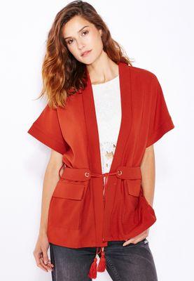 Ella Kimono Belted Jacket