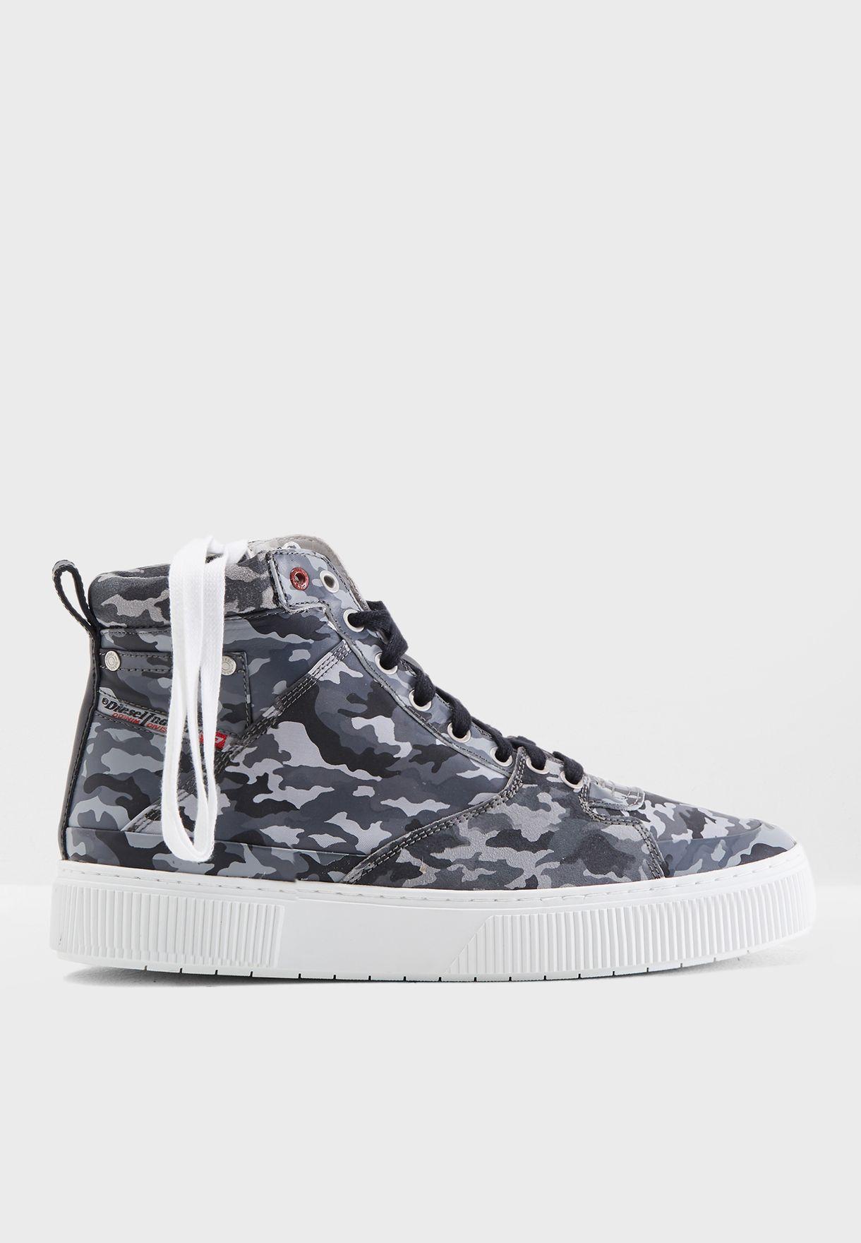 S-Danny Camo Sneakers