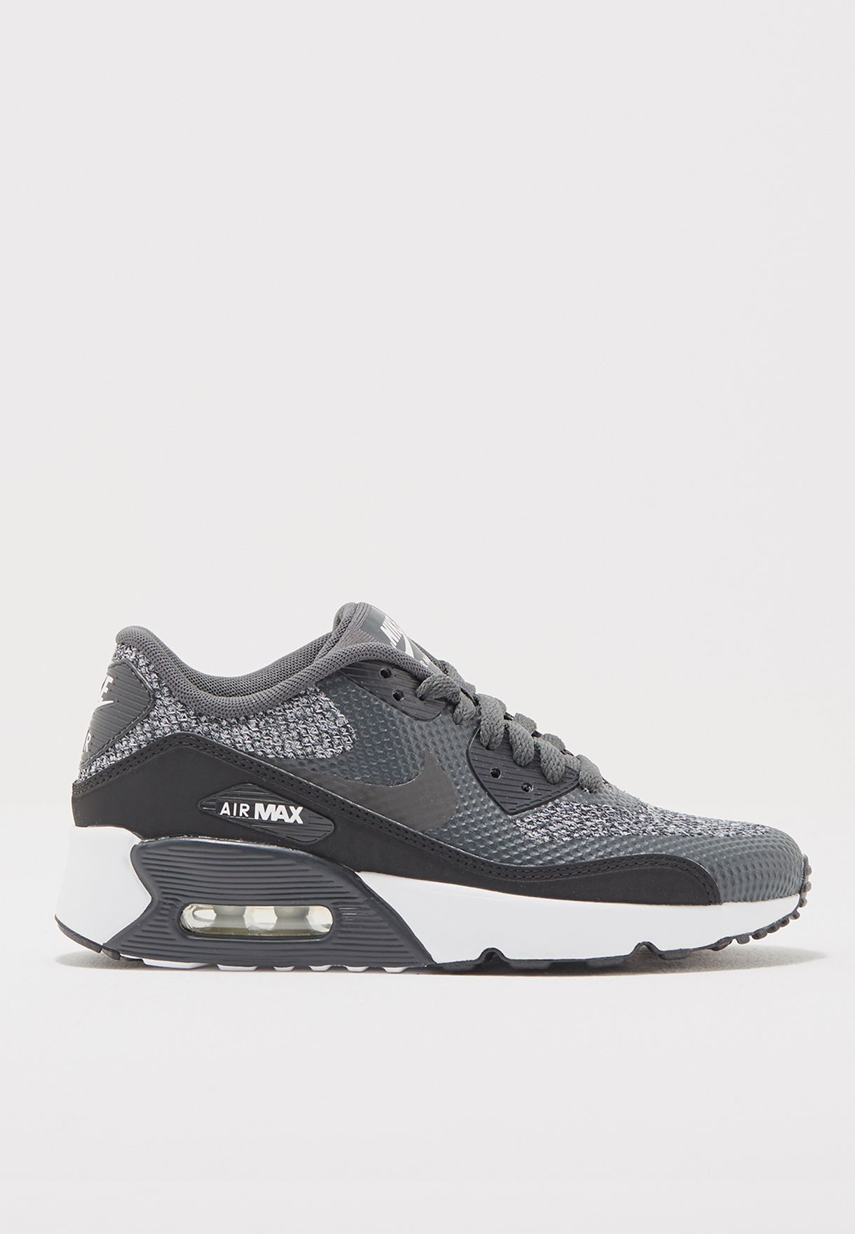 a8de963adb0cf Shop Nike black Air Max 90 Ultra 2.0 Se Youth 917988-003 for Kids in ...