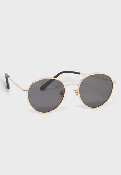 نظارة شمسية دائرية رترو