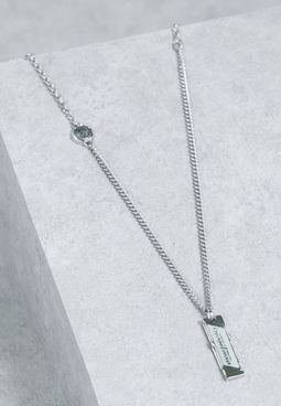 Tabbed Coin Necklace
