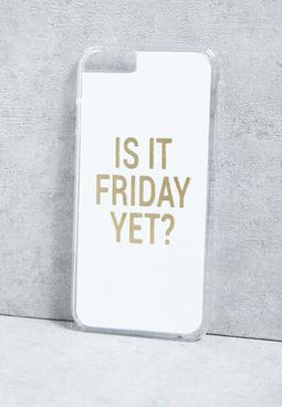 iPhone 6 Is It Friday Yet! Cover
