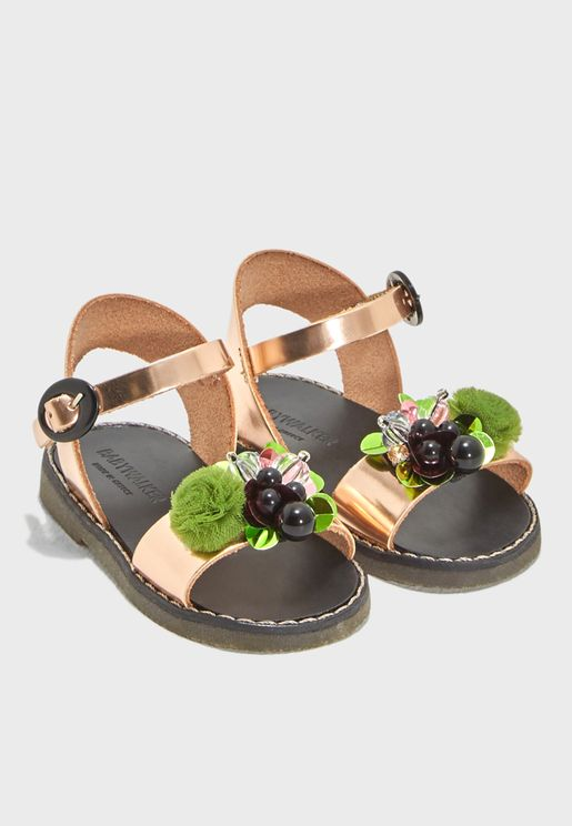 Kids Embellished Sandal