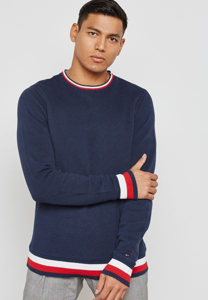 Tommy Hilfiger Chunky Knitted Sweatshirt