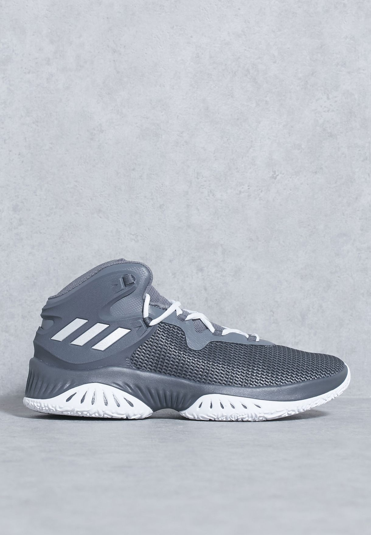 012adbb37e9d Shop adidas grey Explosive Bounce BY3779 for Men in UAE - AD476SH92TIP