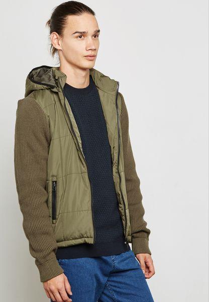 Worth Hoodied Jacket