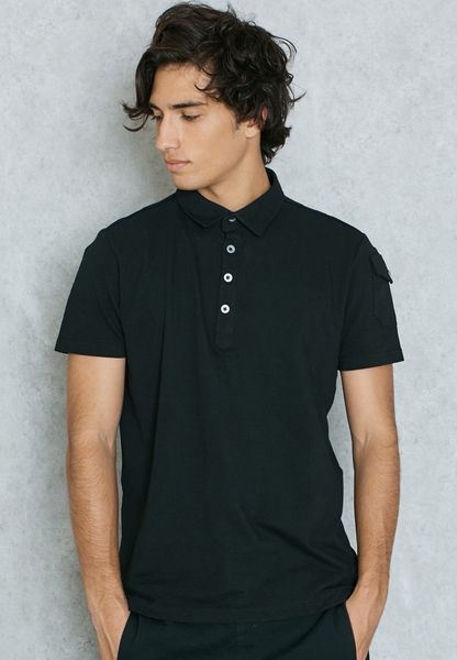 Joe Arm Pocket Detail Polo