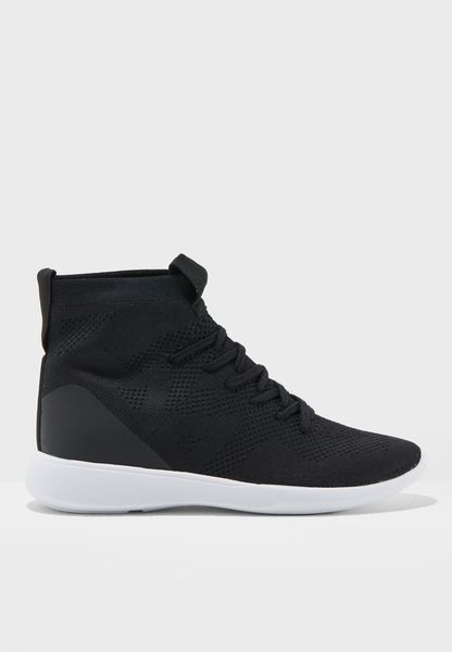 Flat Jogger High Top Sneaker