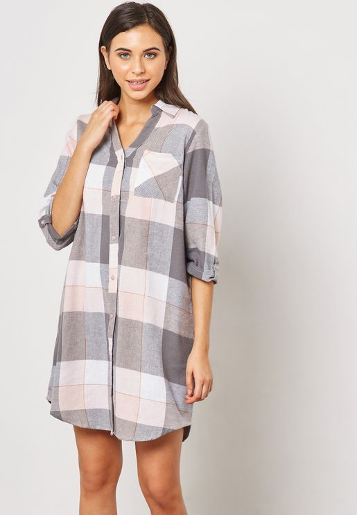 Checked Nightshirt