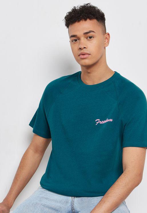 Freedom Crew Neck  T-Shirt