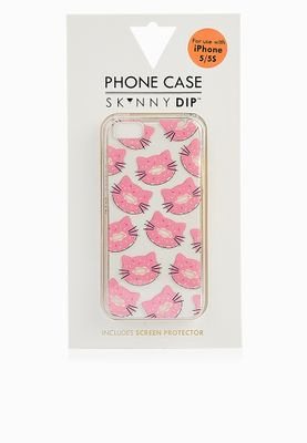 Skinny Dip London iPhone 5 Cat Donut Cover