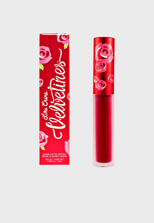 Velvetines Lipstick - Red Rose