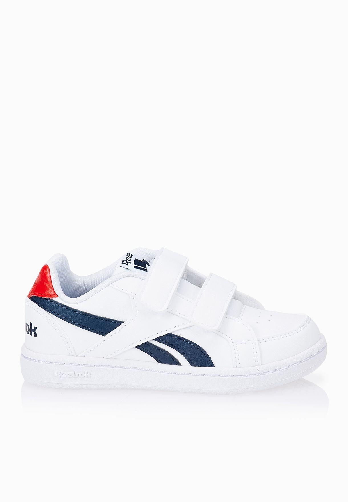 Shop Reebok white Royal Prime Kids V70001 for Kids in Kuwait - RE782SH92WQL 1276288a427