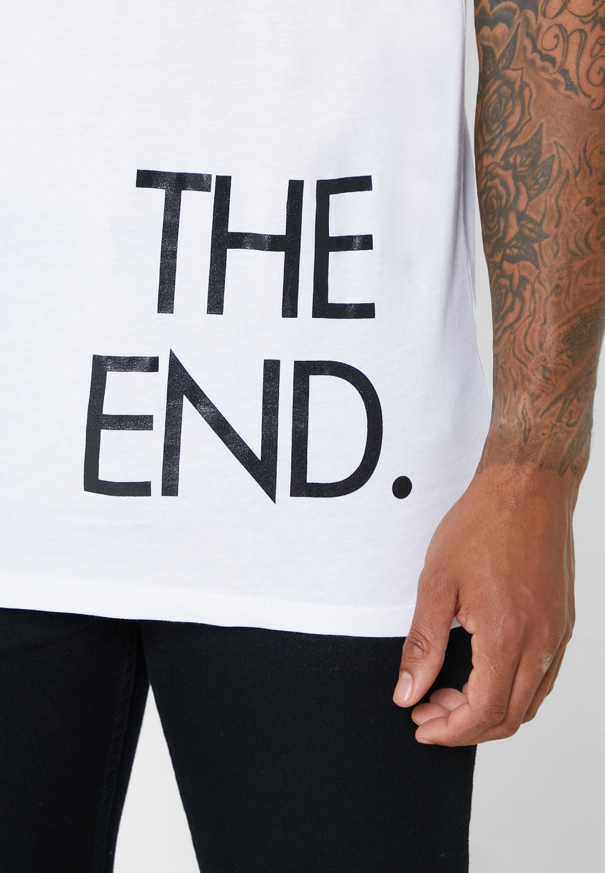 The End Crew Neck T-Shirt