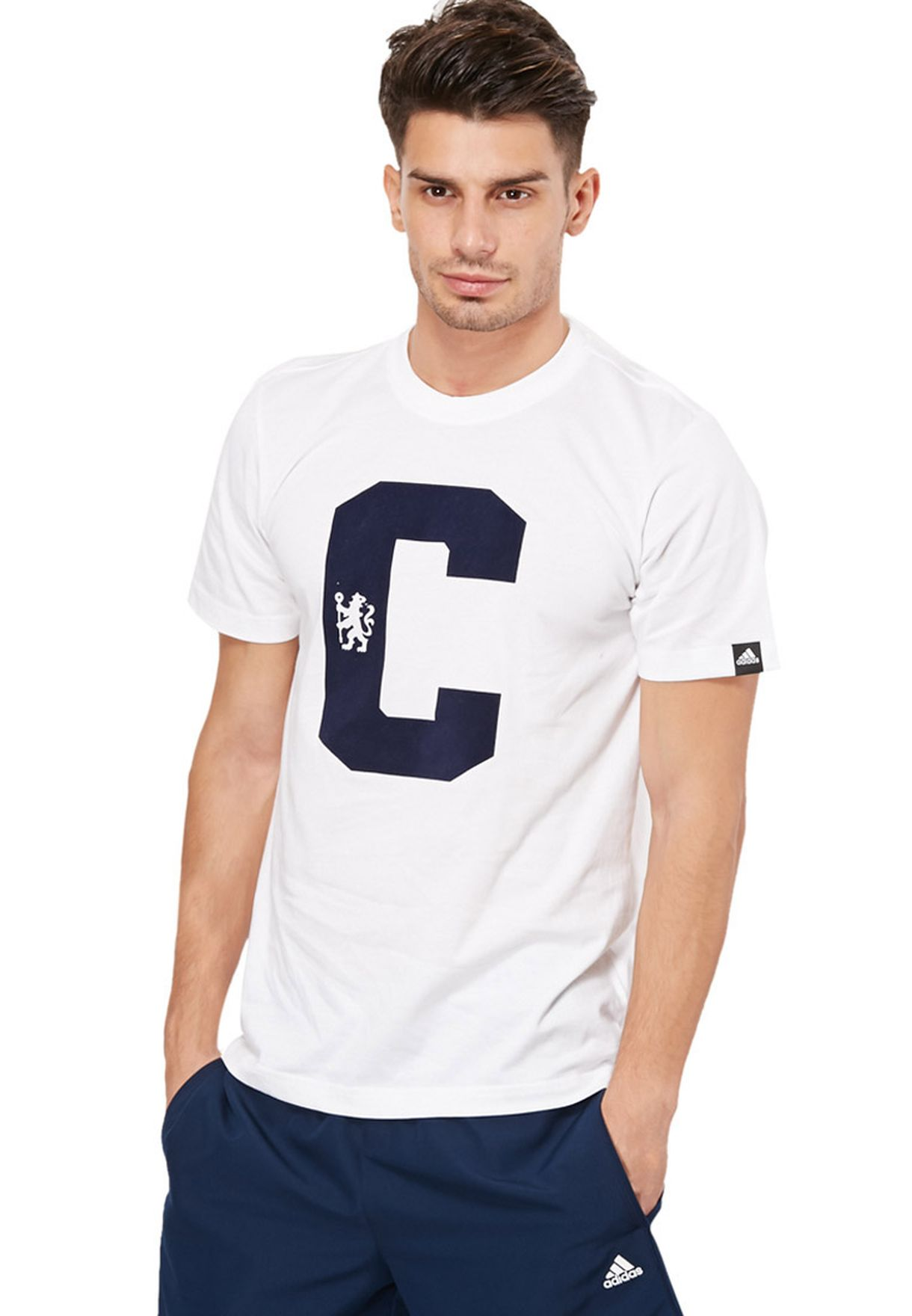 Shop adidas white CFC Core T-Shirt F85573 for Men in UAE - AD476AT92OFJ e01c984e7