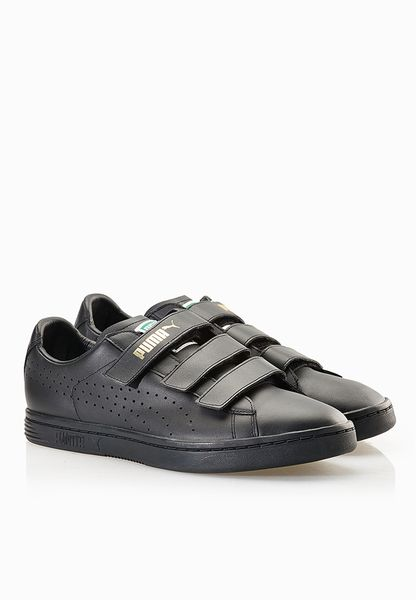 Shop PUMA black Court Star Velcro Sneakers 35772301 for Men in Saudi -  PU020SH82TLH