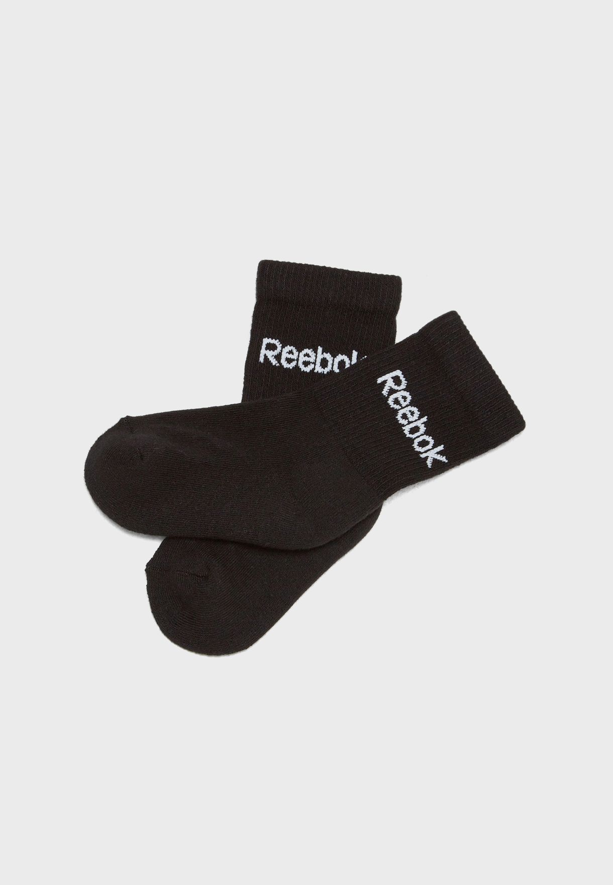 Kids 3 Pack Crew Socks