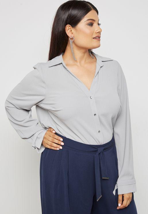 D-Ring Cuff Shirt
