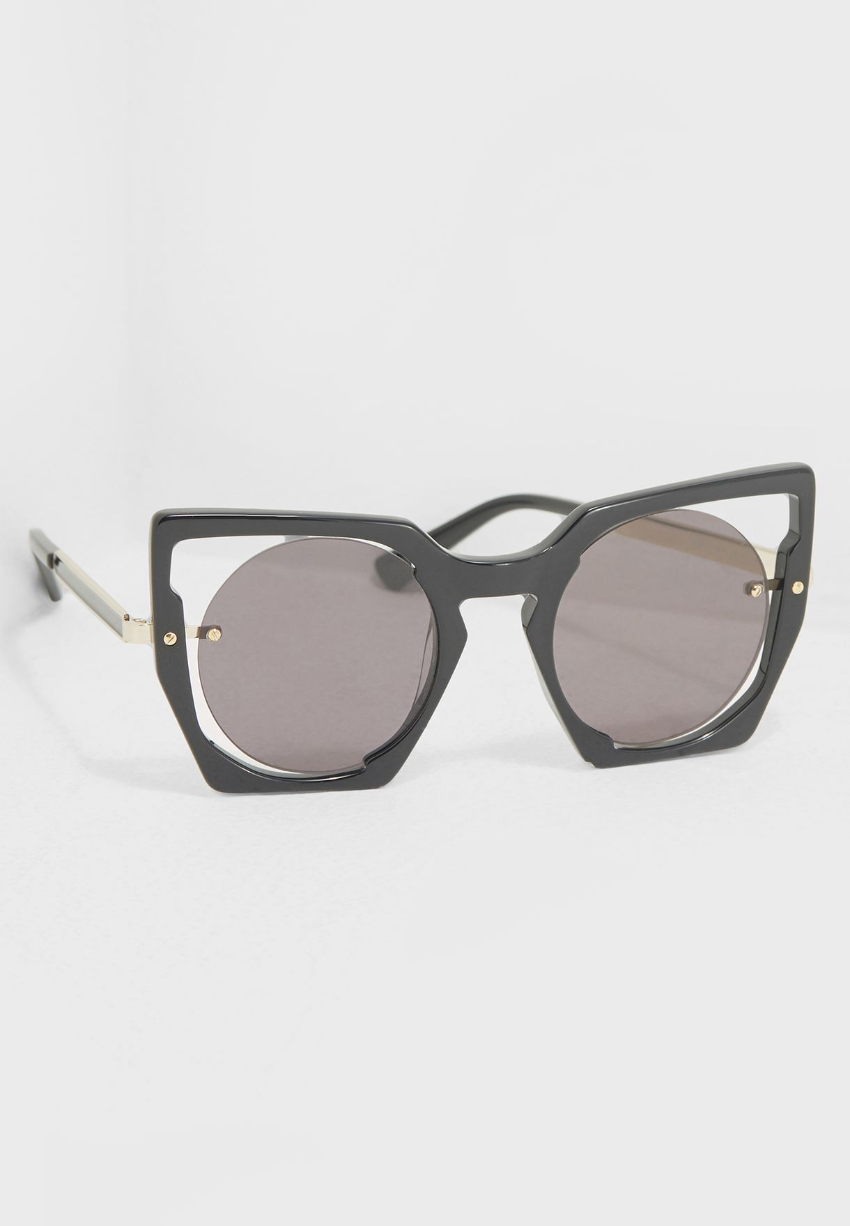 e8019f7f2623 Shop MCM black Statement Sunglasses MCM655S-001 for Women in UAE ...