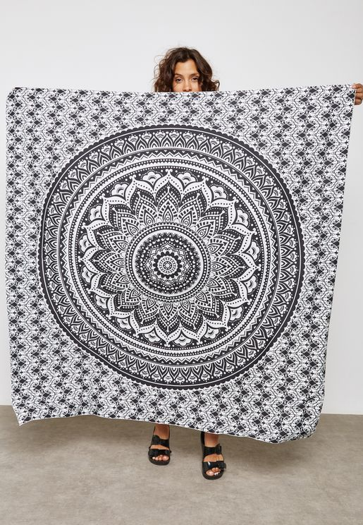 Circular Pattern Tapestry
