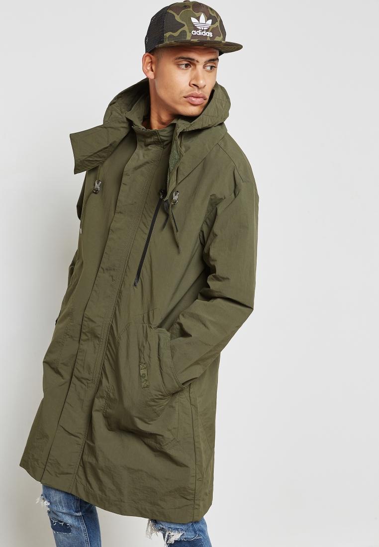 adidas Originals green NMD Parka Jacket