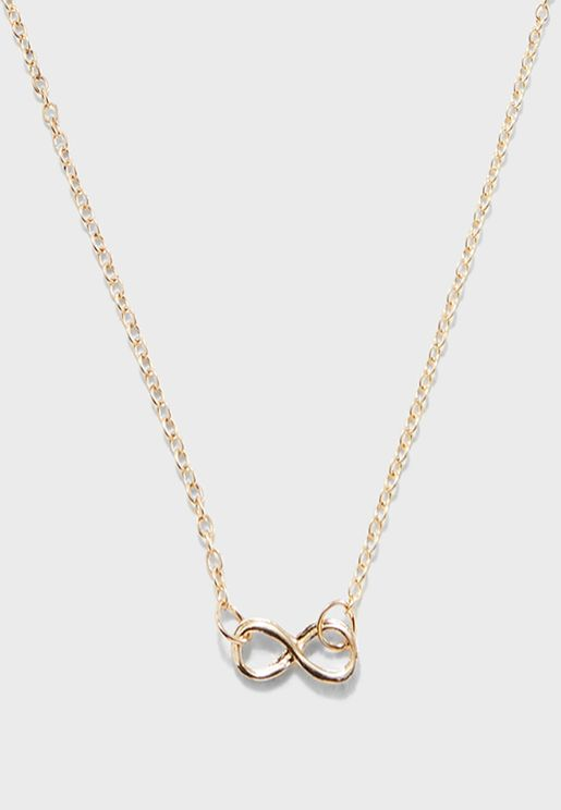 Infinity Love Necklace Gift Card