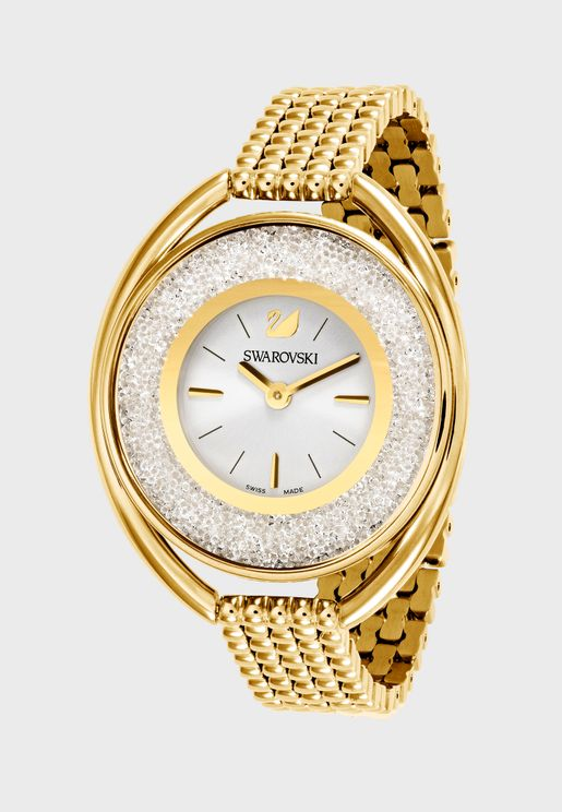 Crystalline Oval Watch