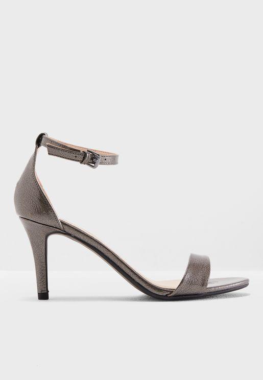 Stella Mid Heel Sandal