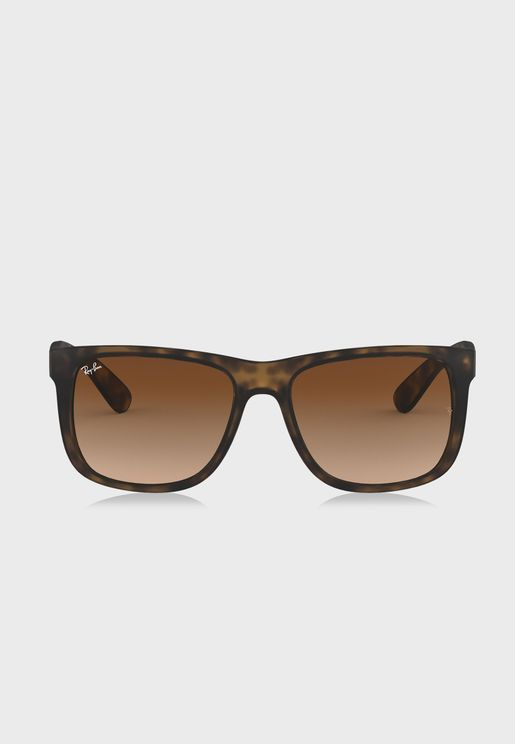 0RB4165 Justin Square Sunglasses