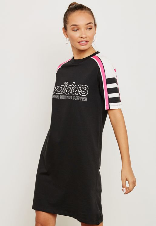 Racing T-Shirt Dress