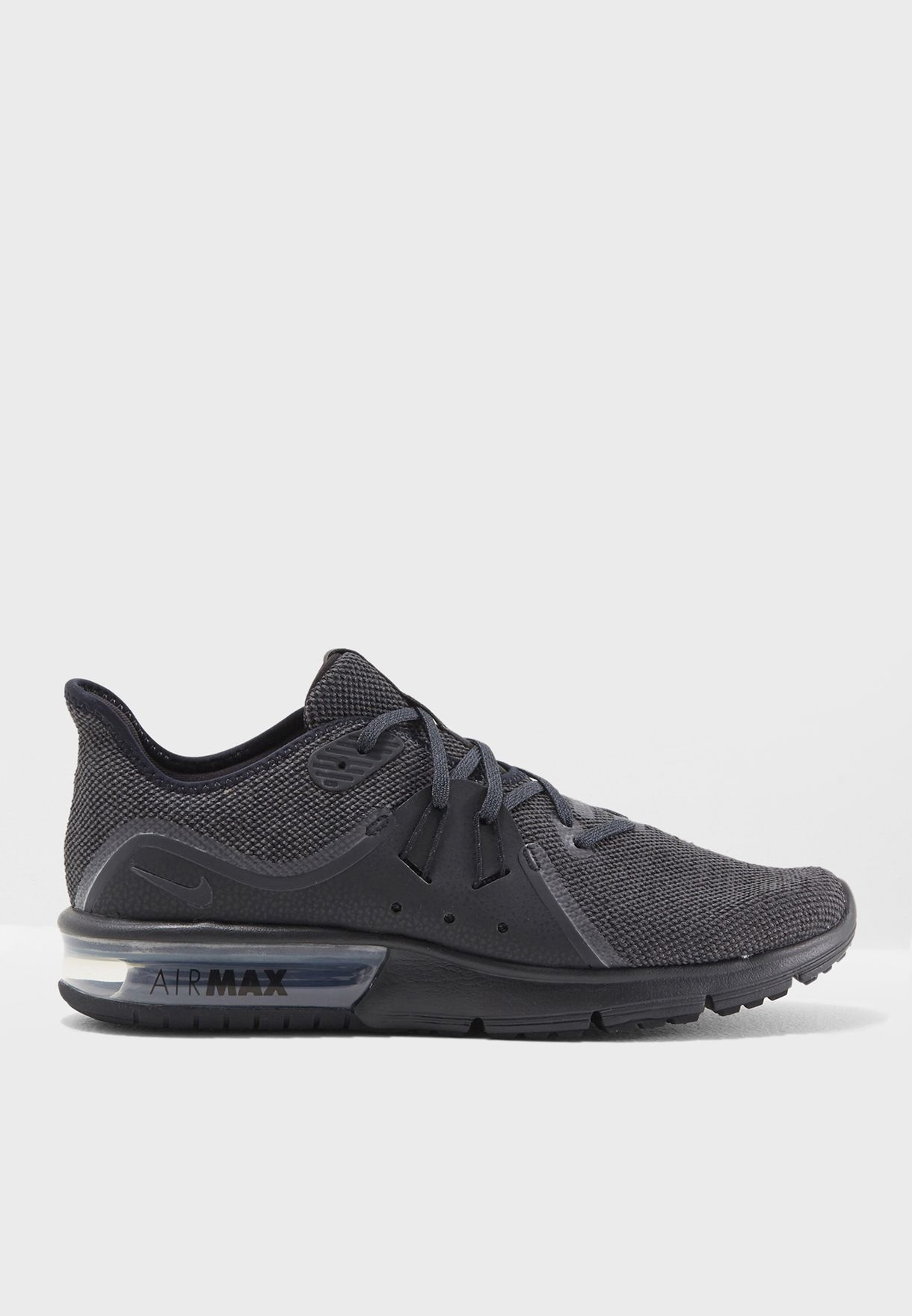 the latest c20da 424e9 Shop Nike black Air Max Sequent 3 921694-010 for Men in UAE - NI727SH82ZSF