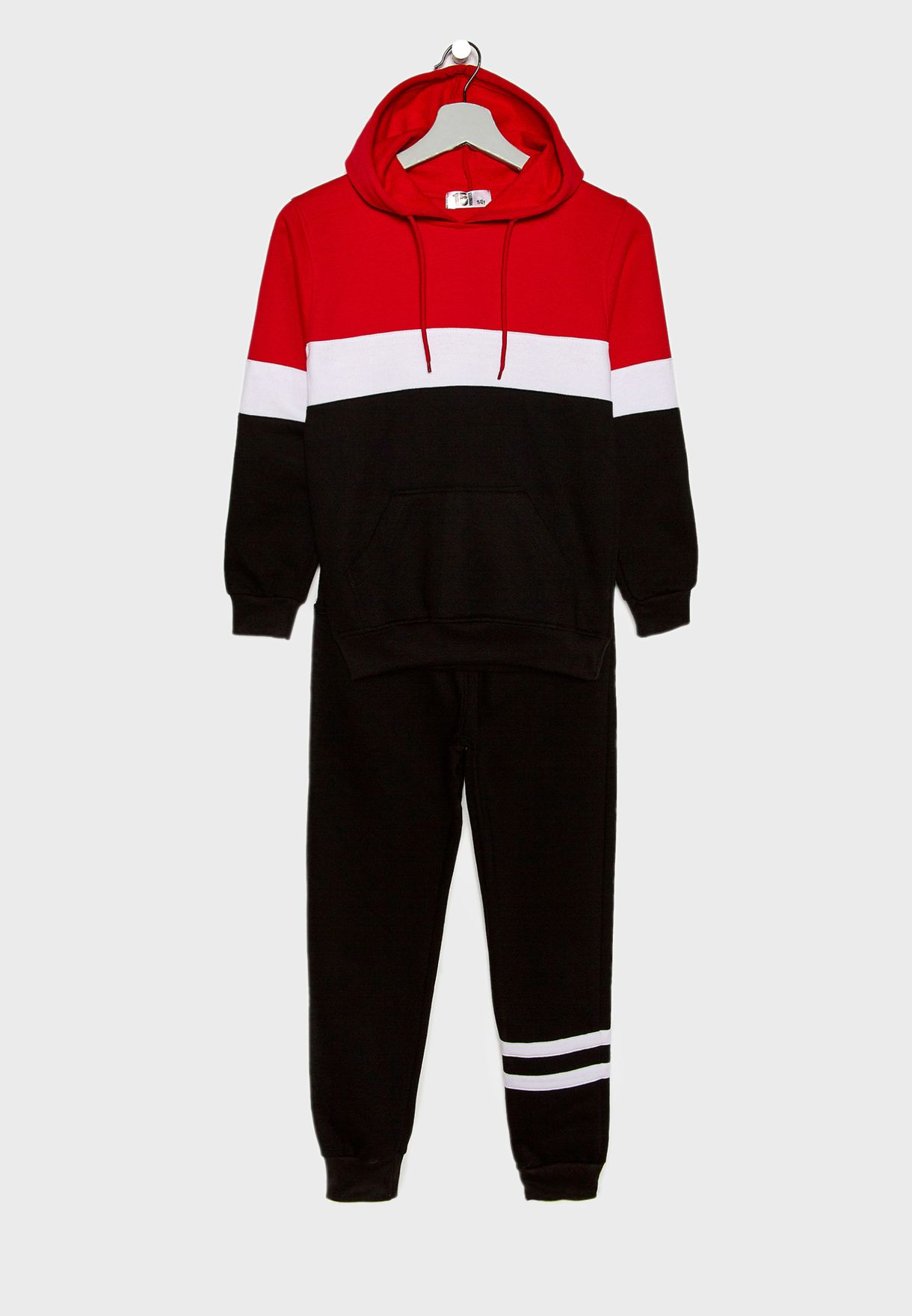 Color Block Tracksuit
