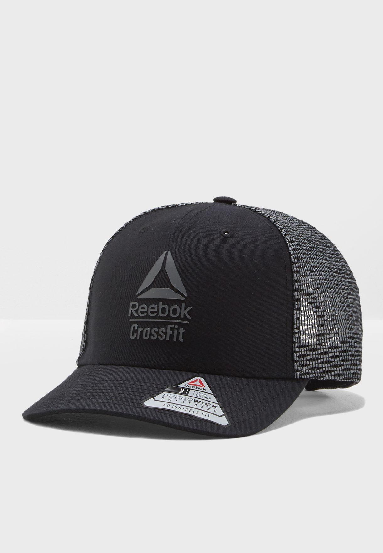 Shop Reebok black CrossFit Cap CZ9887 for Men in Kuwait - RE019AC82YQF d701e648de71