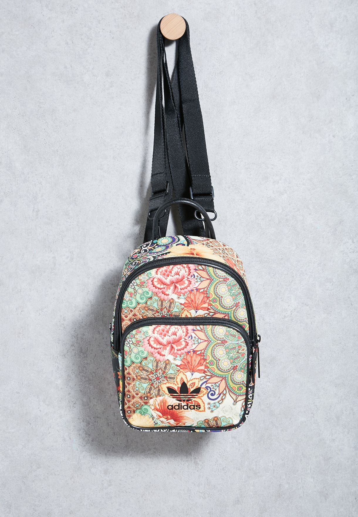 Floral Print Mini Backpack
