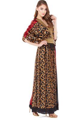 Threadz Animal Print Dress