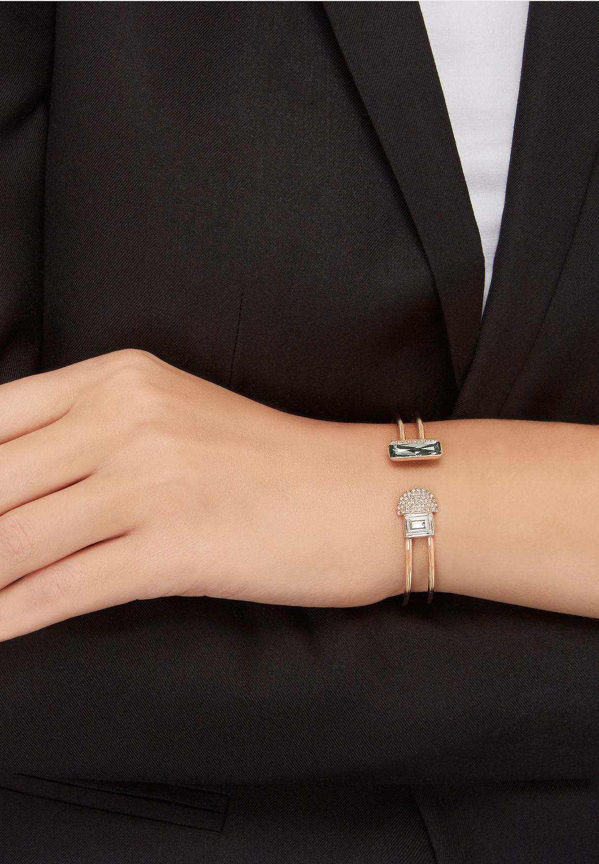 Shop Swarovski gold Small Future Bangle 5257559 for Women in ... 31dfef8d6f2c