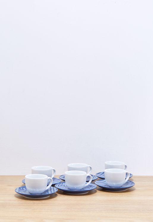 Turkish Coffee 6Pc Set