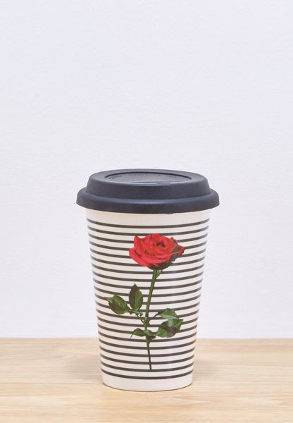 Rose Travel Mug