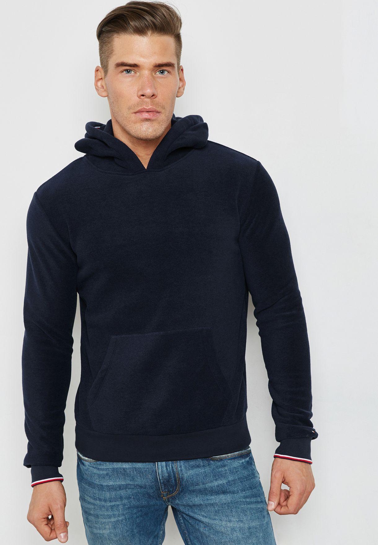 cbb3d63d Shop Tommy Hilfiger navy Hoody UM0UM00358416 for Men in UAE ...