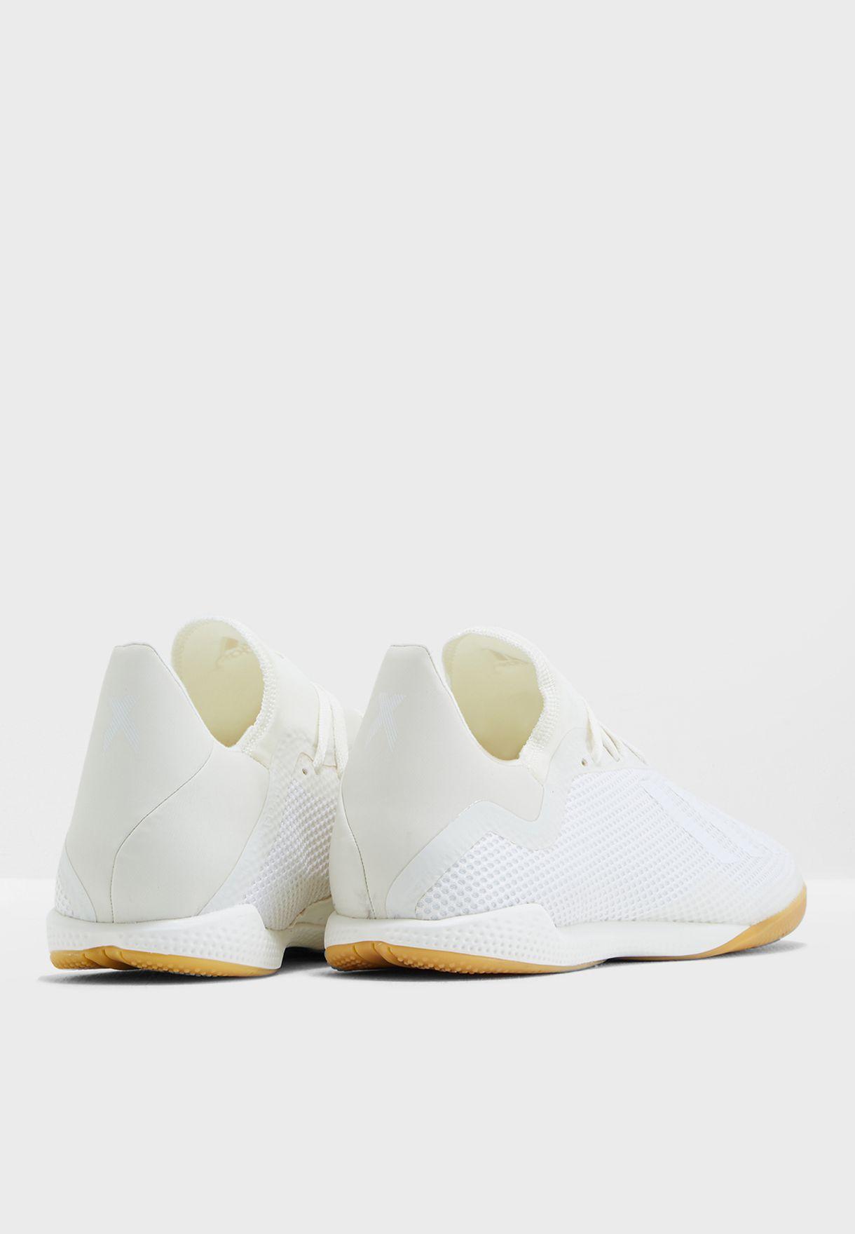 cf0aec91b تسوق حذاء اكس تانجو 18.3 للاسطح الداخلية ماركة اديداس لون أبيض ...