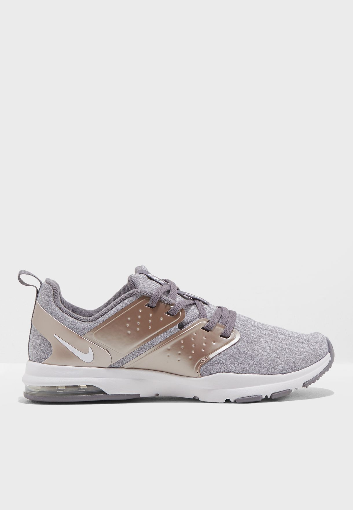 3692eeb7f1a59 Shop Nike grey Air Bella TR PRM AQ0686-001 for Women in Saudi ...