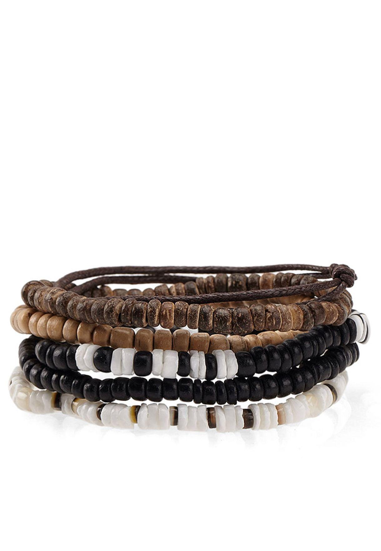 6 Pack Woodstock Bracelets
