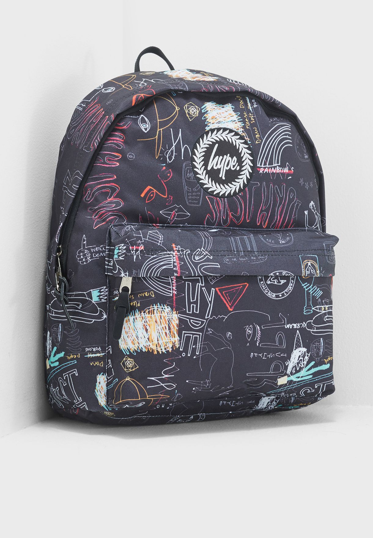 0c1ac7fb3c Shop Hype prints Scribble Backpack AW17-382 for Women in Bahrain -  HY661AC82AWB