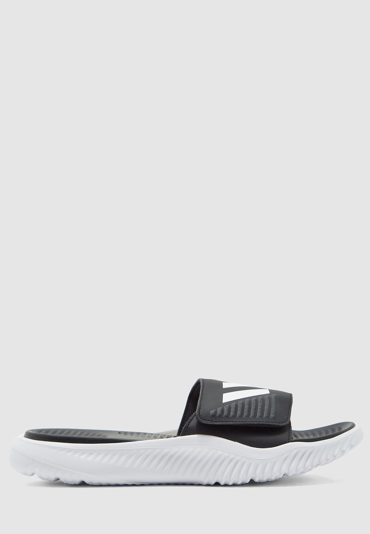 964d7f0bbfdc6 Shop adidas black Alphabounce BB Slides BA8775 for Men in UAE ...