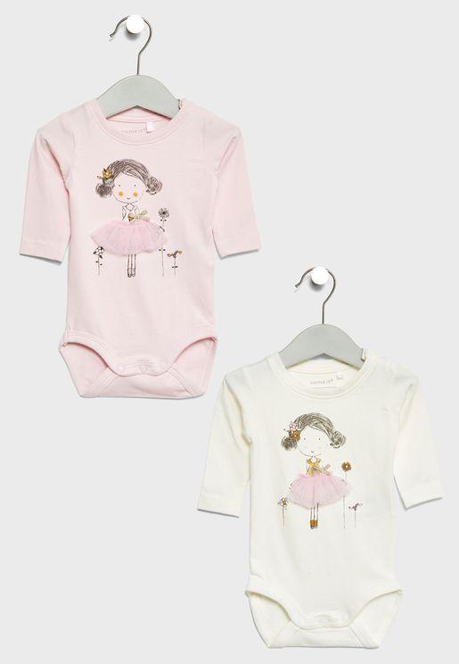 Infant 2 Pack Bodysuits